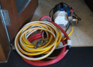 Peralatan Kerja AC Split