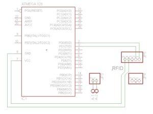 Skematik RFID RDM6300 125 KHz Cara Membuat Rangkaian RFID