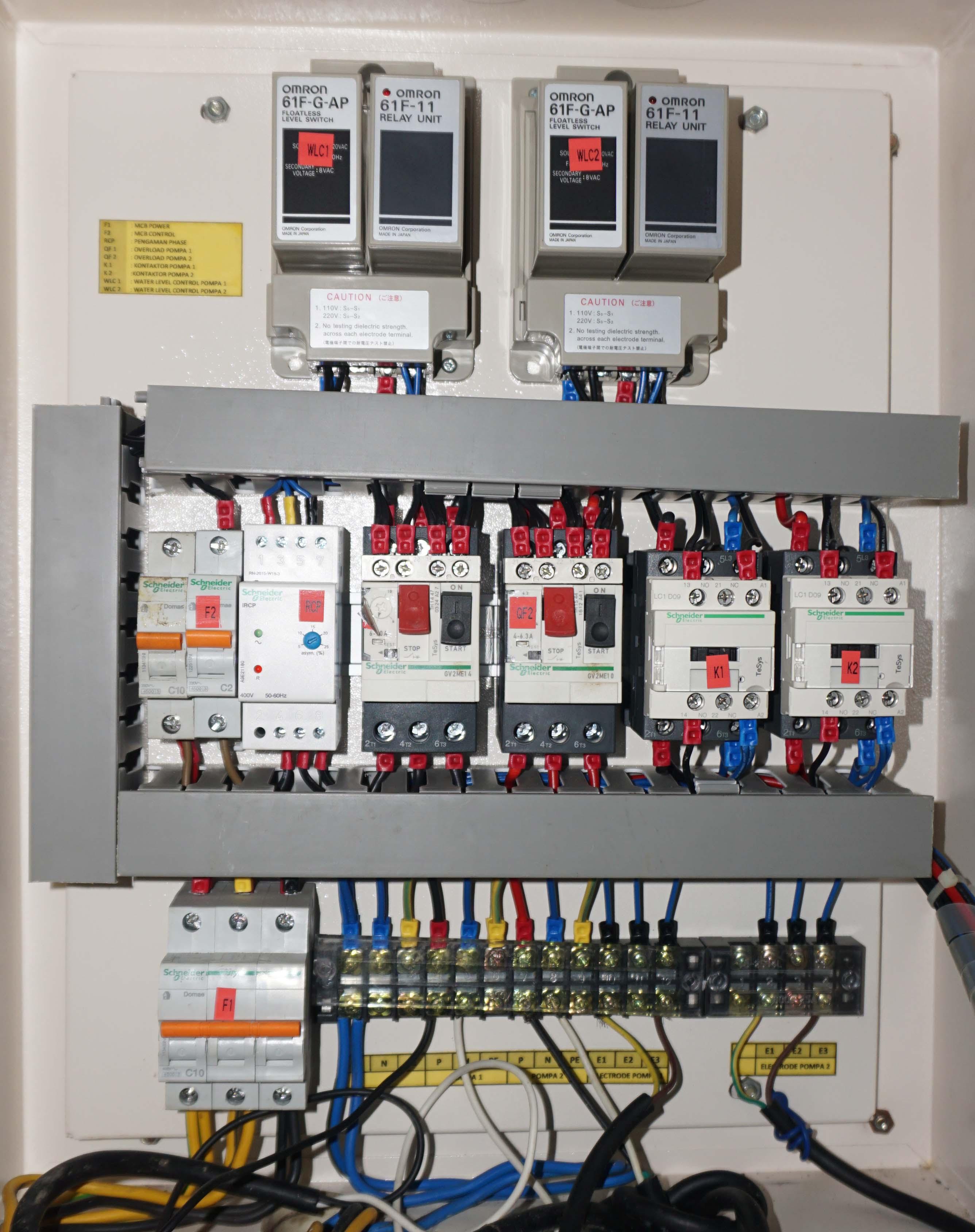 Cara Merakit Panel Kontrol Pompa Air  U2013 Egsean Com